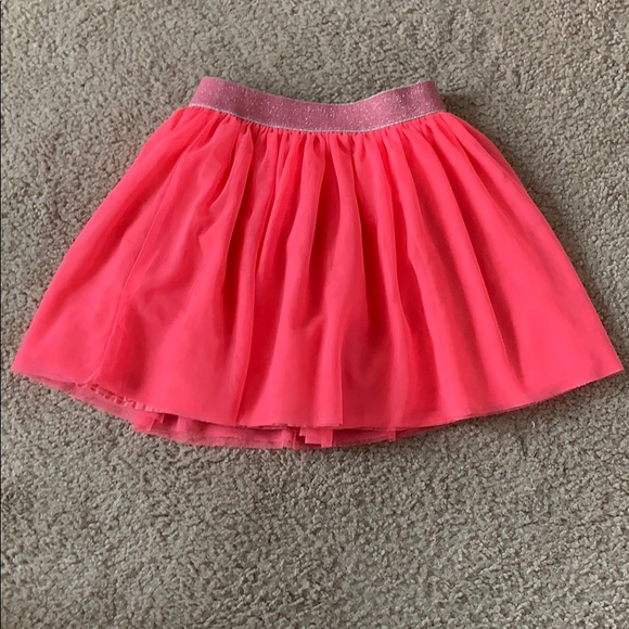 GAP Other - Gap Girls Tulle Neon Pink Skirt Size 4T
